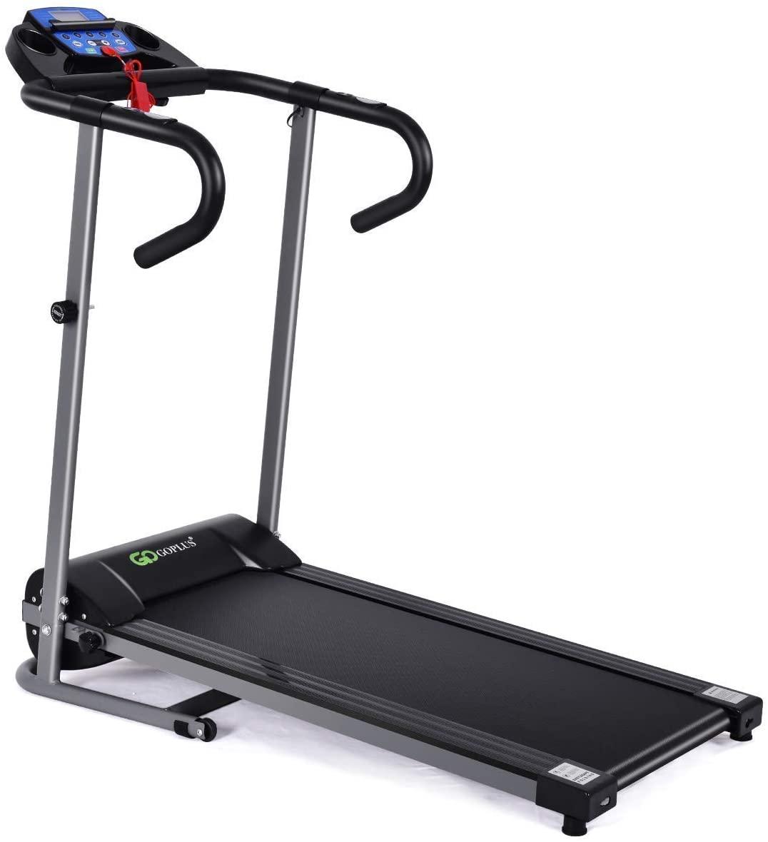 Goplus 1100W Electric Folding Treadmill