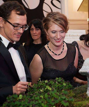 Four Leaf Clover Picking in Vienna Ball in Austria at the Hofburg Palace | Krys Kolumbus Travel