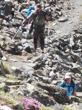 Photo: pour remonter vers le Montcalm