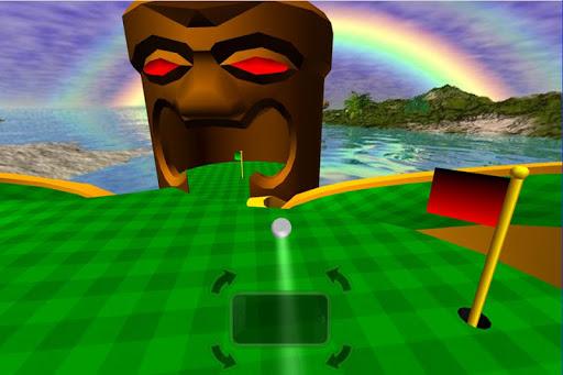 Tiki Golf 3D FREE  screenshot 3