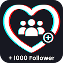 Followers And Likes for tik tok icon