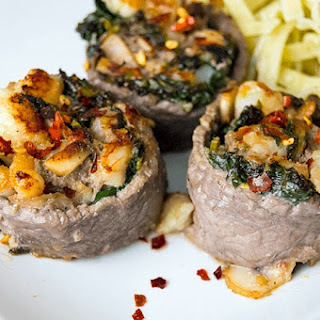 Surf 'N' Turf Pinwheels Recipe