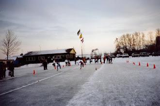 Photo: Servatius > Eerste kortebaanwedstrijden 1991