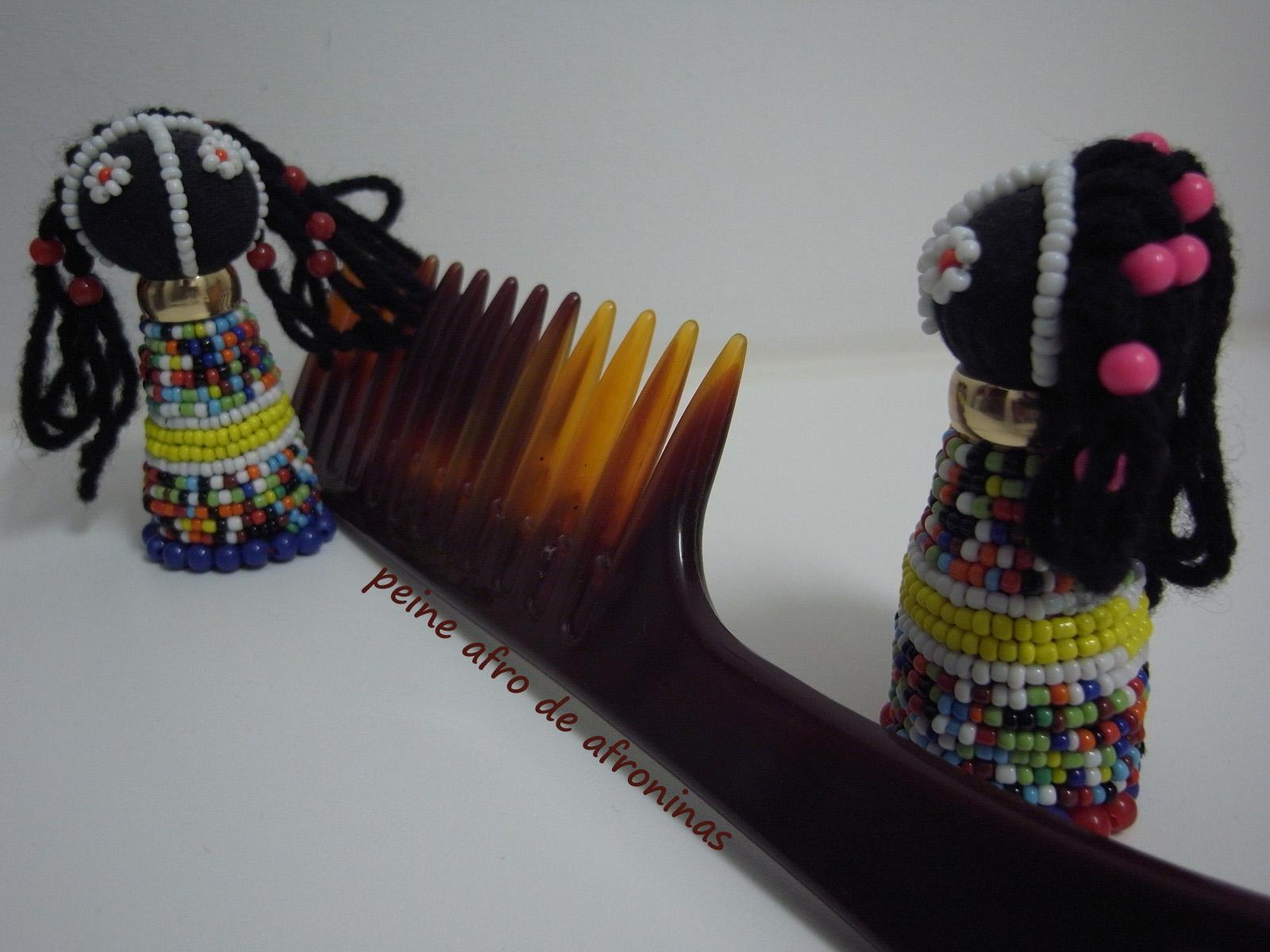 Photo: peine afro de afroninas