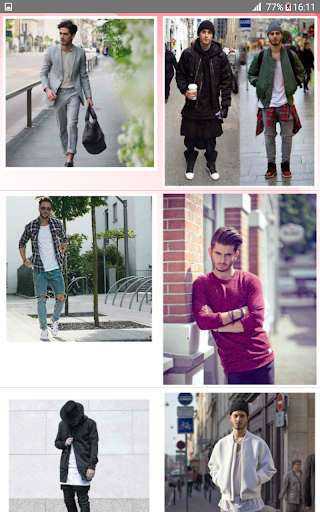 Street Fashion Men Swag Style 1.0 screenshots 2