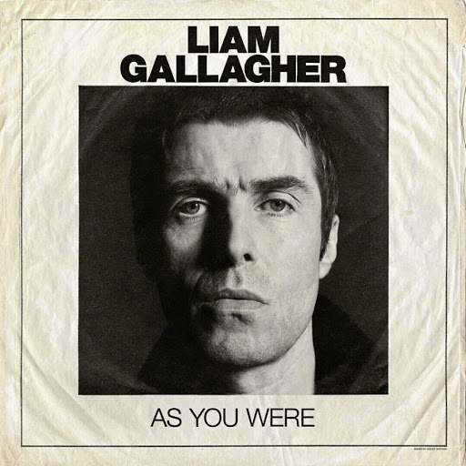 Liam Gallagher's 'As You Were' album cover.