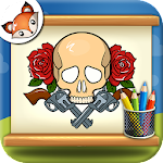 How to Draw Tattoos step by step Drawing App 1.0