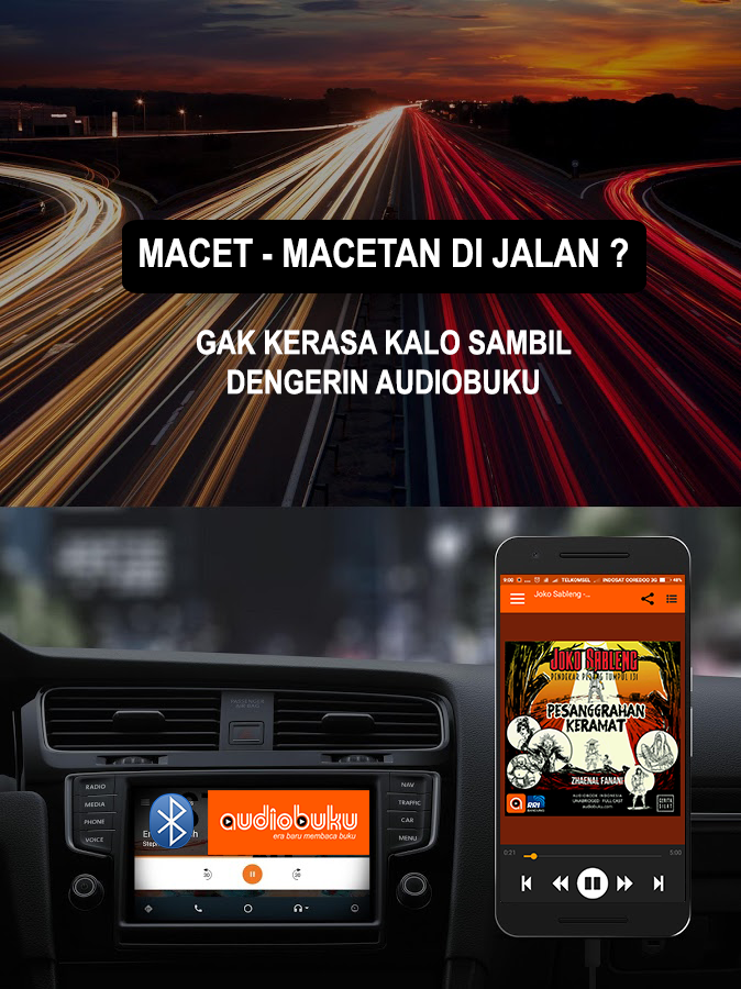 AudioBuku - Free Audio Books & Podcast Indonesia- screenshot