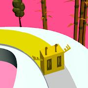 Twisty Line - Color Fill Road 3d