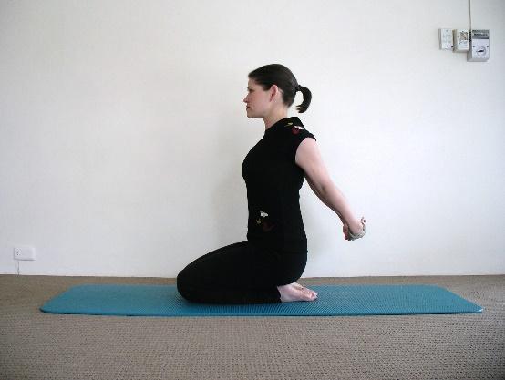 Backward Reach Stretch