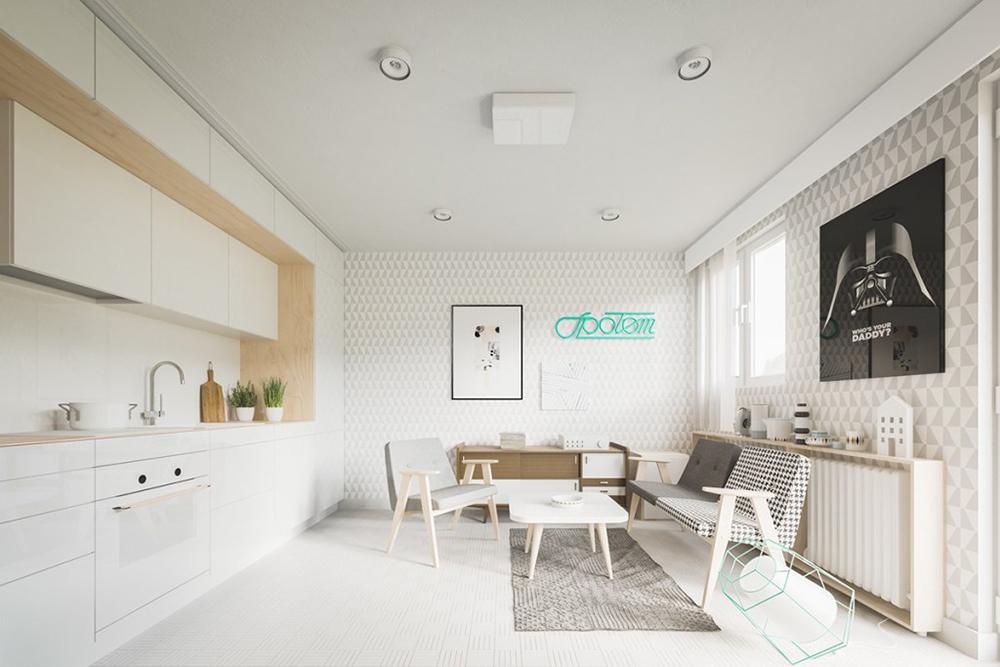10 cảm hứng thiết kế nội thất cho nhà 1 tầng đẹp nhất