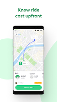 screenshot of Bolt (formerly Taxify)