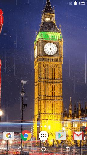 伦敦雨动态壁纸