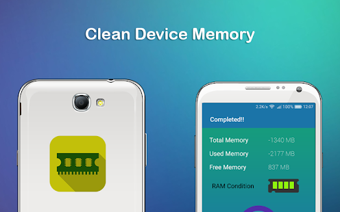 Clean Device Memory - náhled
