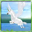 Flying Unicorn Simulator 3D