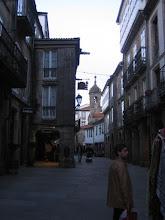 Photo: Gasse in Santiago de Compostela