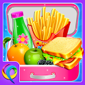 School Lunchbox Food Maker - Cooking Game icon