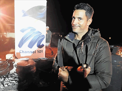 OUTLAST: Nico Panagio once again hosts 'Survivor South Africa', which was filmed in the Philippines. The sixth season begins today on M-Net at 7pm Picture: BARBARA HOLLANDS
