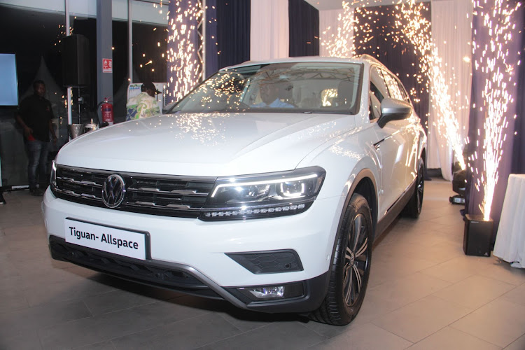 The newly launched Volkswagen Tiguan