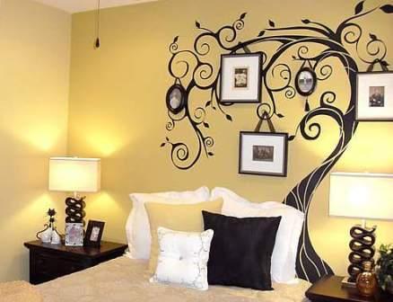 墙面装饰理念。