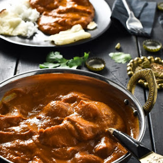 Butter Chicken With Coconut Cream Recipes.