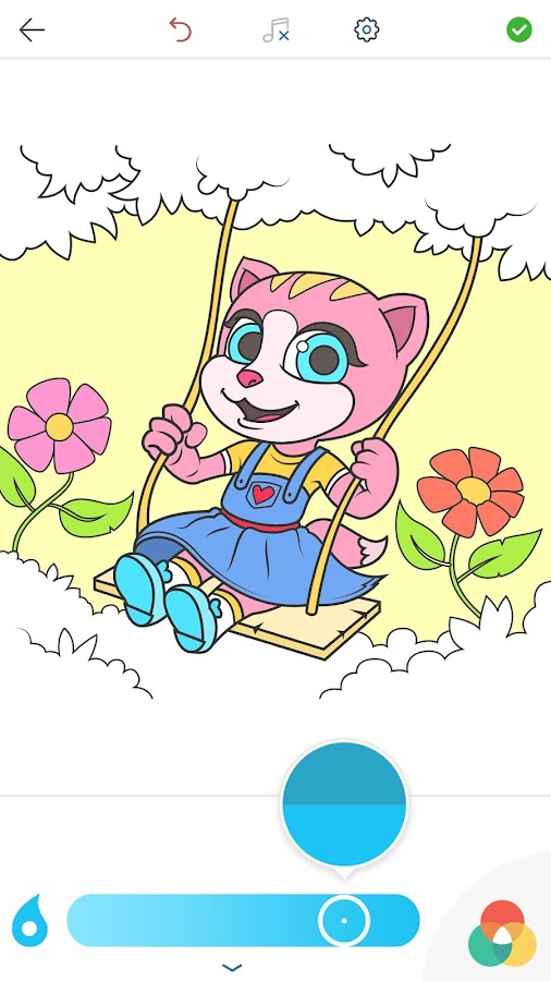 Emma the Cat Coloring Pages- screenshot