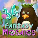 Fantasy Mosaics 34: Zen Garden icon