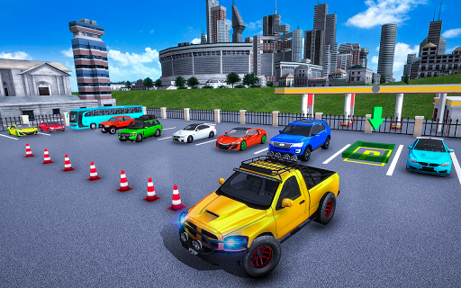 In Car Parking Games u2013 Prado New Driving Game 1.3 screenshots 1