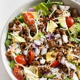 Low-Carb Taco Salad Recipe.