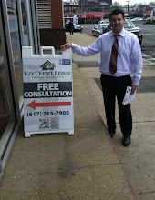 Photo: Key Credit Repair in Boston, MA proudly displaying their BBB Accreditation