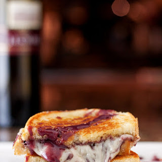 Wine & Cheese Grilled Cheese + GIVEAWAY