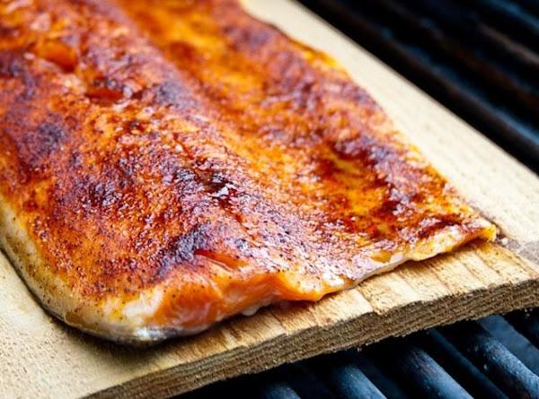 Cedar Plank Smoked Wild Salmon Recipe