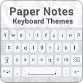 Paper Notes Keyboard Theme