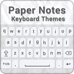 download Paper Notes Keyboard Theme apk