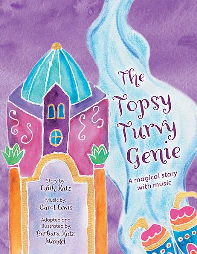 The Topsy Turvy Genie cover