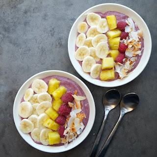 Tropical Smoothie Bowls.