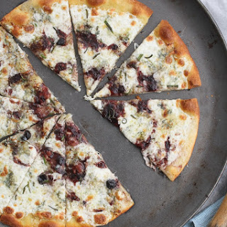 Gorgonzola Pizza with Jam Drizzle Recipe