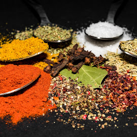 Spices by Andrej Kozelj - Food & Drink Ingredients ( ingredients, colorful, color, colors, food, spice, ingredient, spices )
