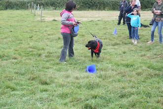 Photo: Dicer Lab showing off his ball skills with mum Recha