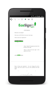 EcoSignIt- screenshot thumbnail