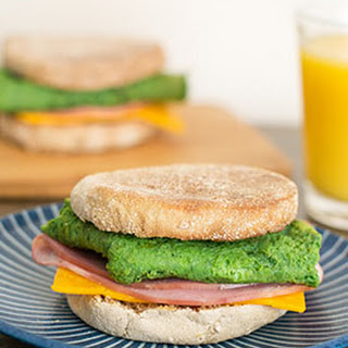 Green Eggs and Ham Breakfast Sandwich Recipe
