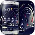 Theme Car Speedometer speed icon