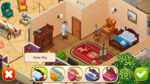Family Hotel: Renovation & love storyu00a0match-3 game modavailable screenshots 8