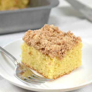 Skinny Cinnamon Crumb Coffee Cake