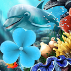 Sea Fish Theme GO Launcher icon