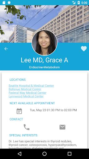(APK) تحميل لالروبوت / PC Virginia Mason Medical Center تطبيقات screenshot