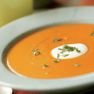 Butternut Squash Soup with Cumin & Coriander