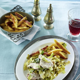 Pork Tenderloin with German Cabbage.