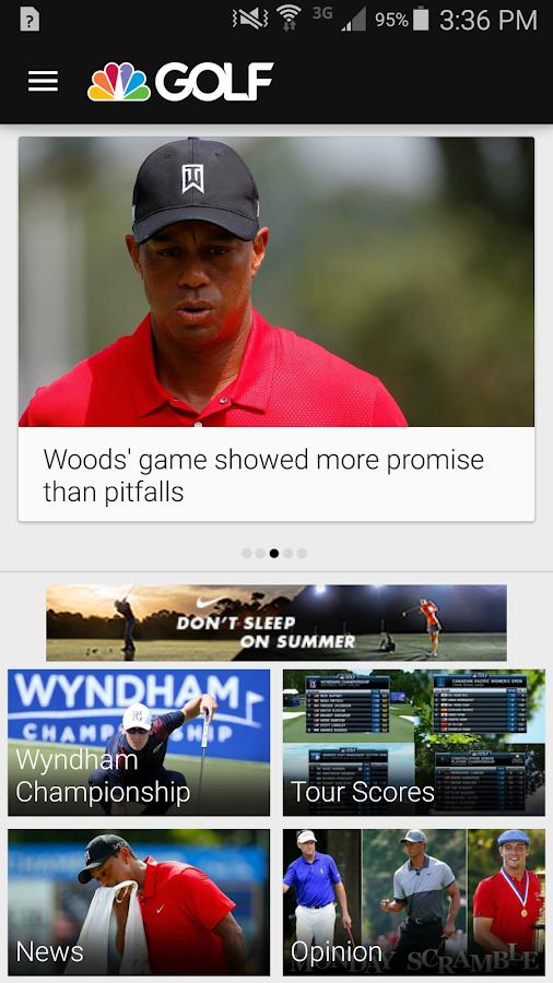 Golf Channel Mobile- screenshot