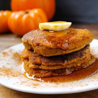 Grain Free Pumpkin Spice Pancakes